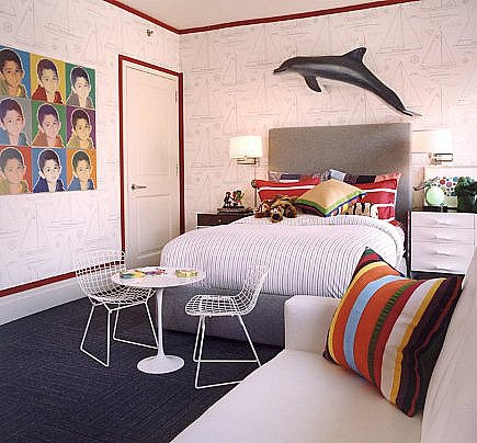 room's for kids - boy's bedroom by Robert Passal via Atticmag
