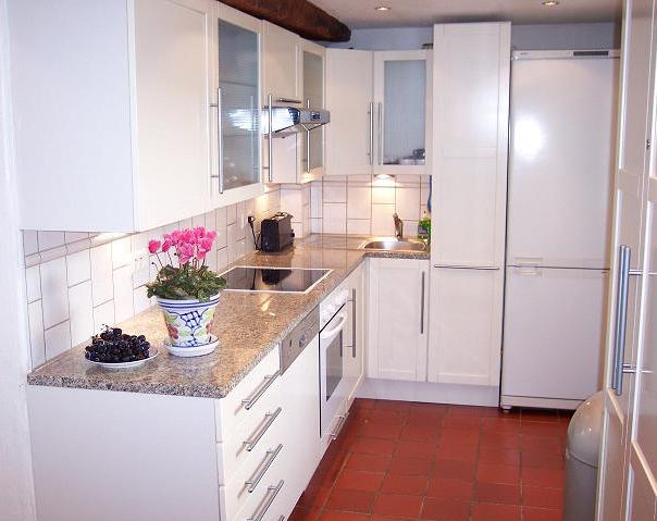 European Kitchens Offer Lessons In Using Limited Space, As This White Ikea  Kitchen Demonstrates.