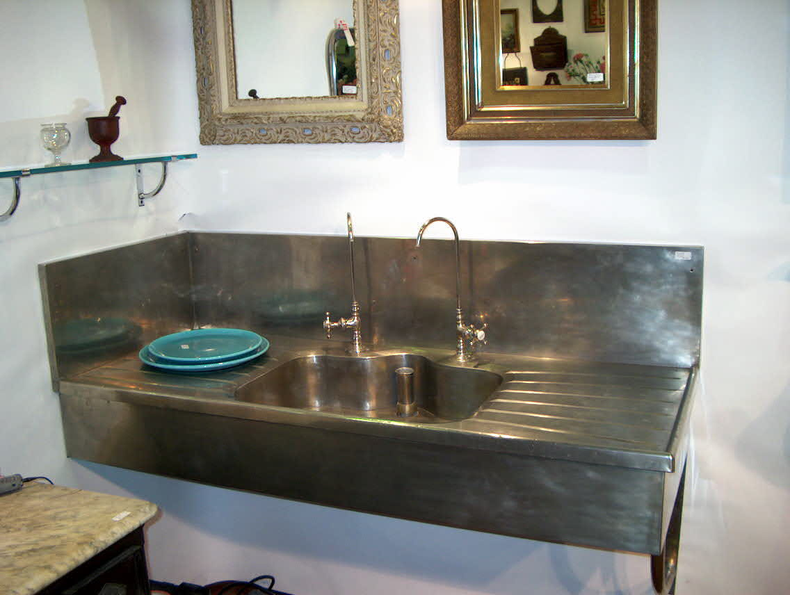 Salvage And Vintage Fixture Fans Will Appreciate This Cool Monell Pantry  Sink