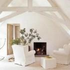 Whitewashed Rooms