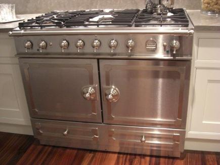 6 burner CornueFe stainless steel range