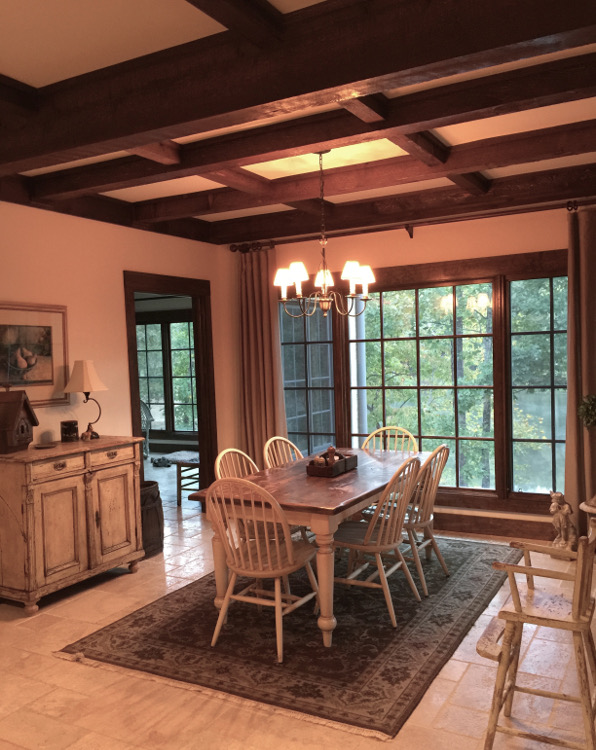 alabama stone cottage - breakfast room - atticmag