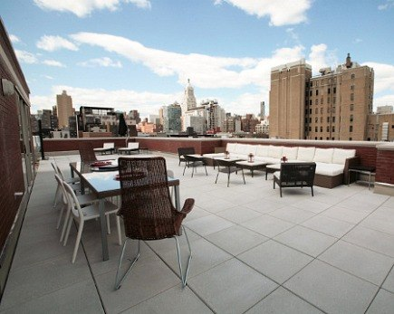 NYC Village Green condominium IKEA penthouse showhouse