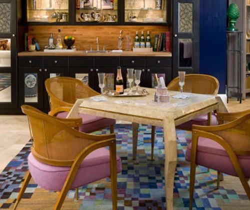 game room by Bradley Stephens in 2010 Hamptons Designer Show House - Bradley Stephens, Peter Murdock via Atticmag
