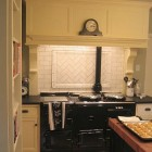 Herringbone Medallion Kitchen