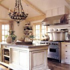 Warm White Kitchens
