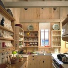 White Pine Beach House Kitchen