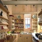 White Pine Beach House Kitchen