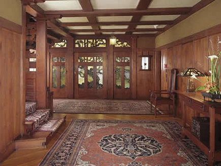 historic homes - Gamble House interior - via atticmag
