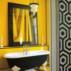 Sunflower Yellow Bathroom