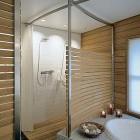 Wood Plank Master Bath