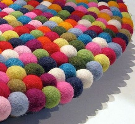 pinocchio felted wool carpet from Hay Design