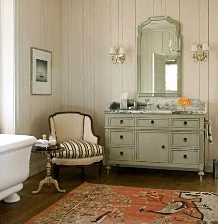 Pictorial Bathroom Carpet | Atticmag | Kitchens, Bathrooms ...