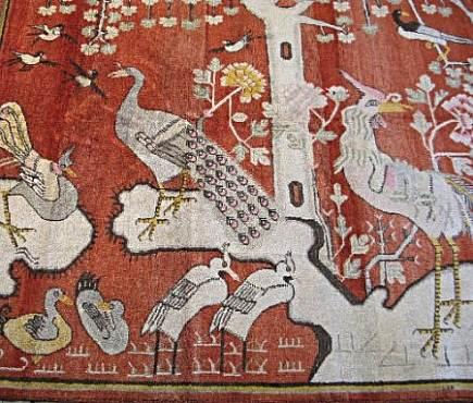khotan pictorial rug from Kristen Buckingham