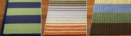 Rugs For Kids Boy S Rugby Stripe Eclectic And Wide Pottery