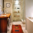 Oriental Rugs in Bathrooms