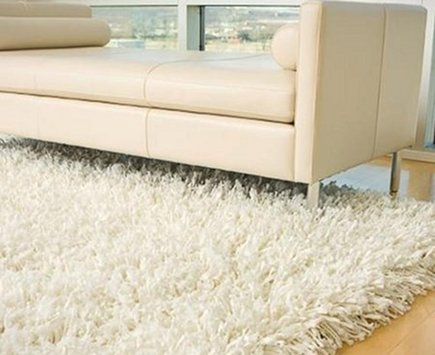 recycled rugs - shoelaces are recycled into modern area rugs - via Atticmag