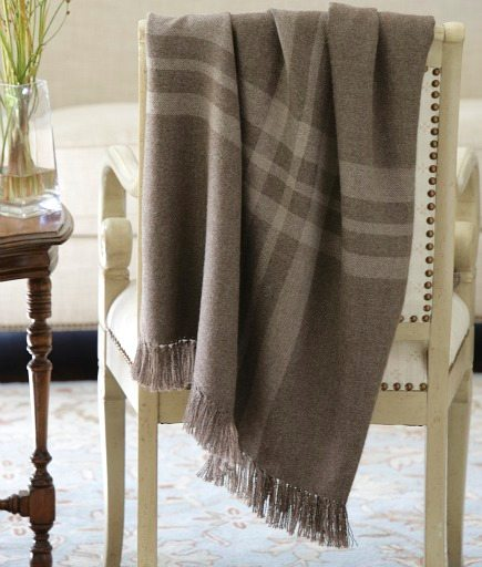handmade baby alpace throw Dart T by Bodmer Blanket and Throws