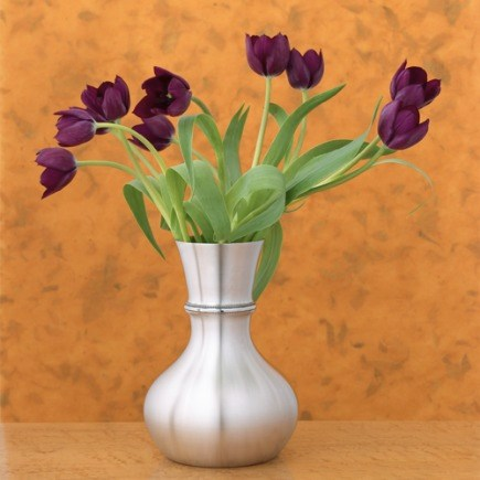 holiday gift ideas - danforth pewterware lilac vase - via Atticmag