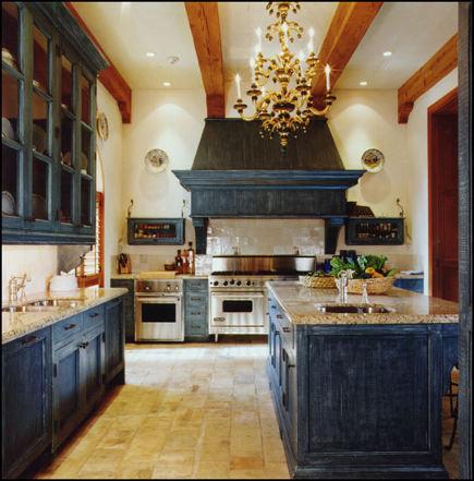 Indigo Cabinet Kitchen