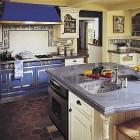 Blue La Cornue Kitchen