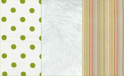 material details of white, pink and green little girls bedroom by Robyn Karp Interiors