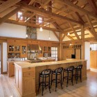 Mission Barn Kitchen