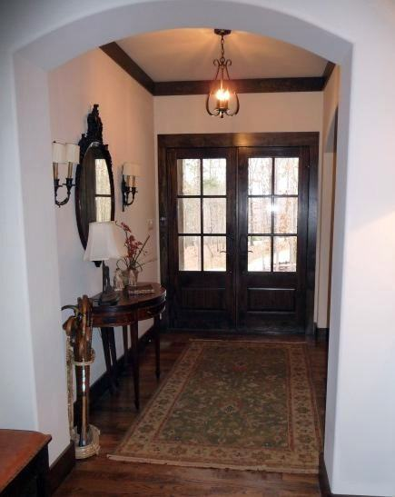 Alabama stone cottage foyer rug after