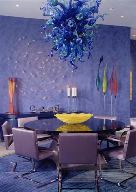 Vivid Color Rooms