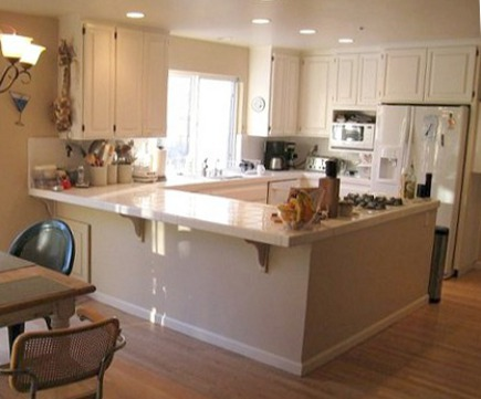 serious cook's kitchen - white kitchen before renovation of a California kitchen - Atticmag