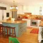Seaspray and Copper Kitchen
