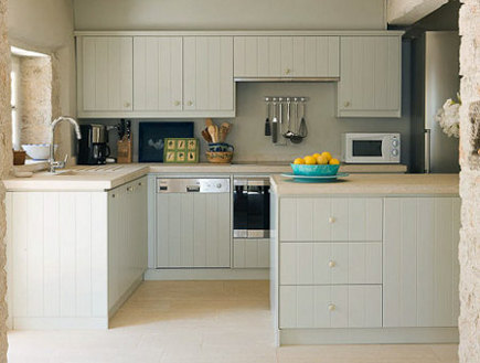 cabinets in renovated kitchen on Rou Estate