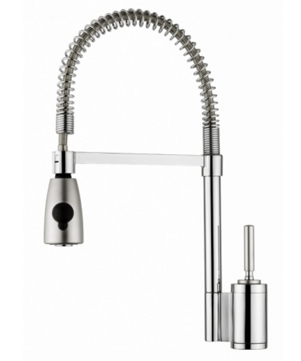 Top Kitchen Faucets   Elkay 7420CR Arezzo Spring Loaded Faucet   Elkay Via  Atticmag