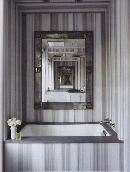 asher marble tub alcove from Ann Sacks