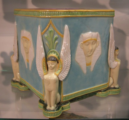 Rare George Jones majolica jardiniere