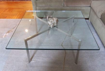 Coffee Tables Mies Van Der Rohe Barcelona Coffee Table Atticmag