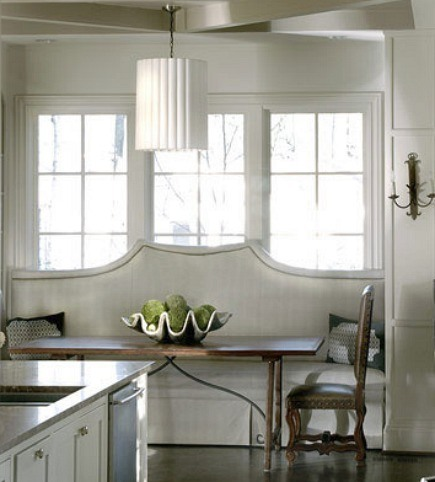 Formal Banquettes | Atticmag | Kitchens, Bathrooms, Interior Design