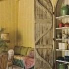 Repurposing Vintage Wooden Shutters