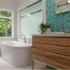 Zebrawood Master Bath