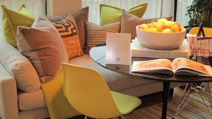 Elle Decor Modern Life Concept Show House living room bu Carrier & Co.