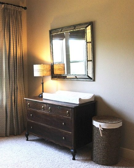 safari theme nursery changing table dresser - Atticmag