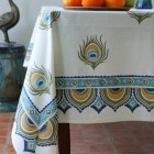 Hand-Printed Linens