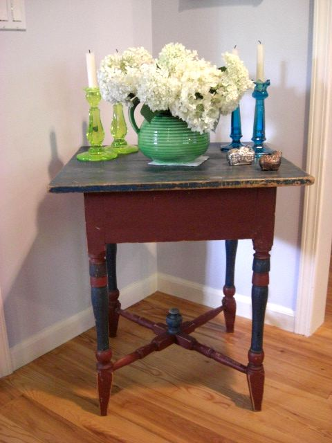 19th century Swedish side table