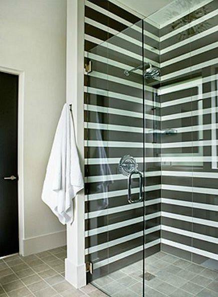 Black Tile Showers