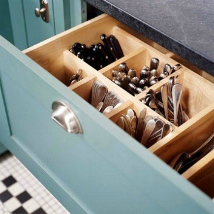Clever Built In Kitchen Cabinet Ideas For Storage And Workability.