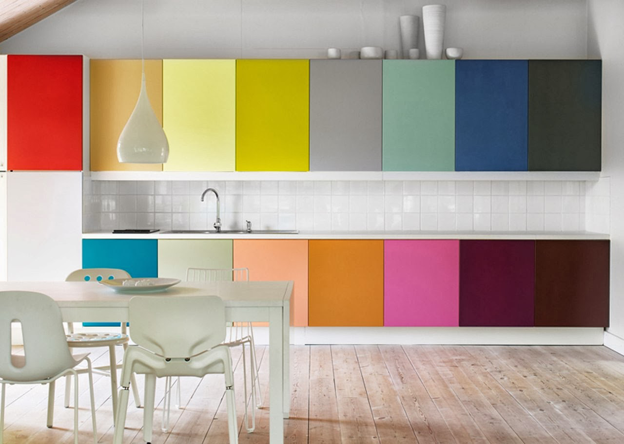 Color Kitchen Multi Color Kitchen