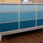 Gradient Color Painted Dressers