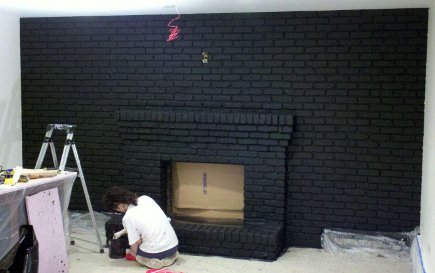 Black Wall Paint black rooms