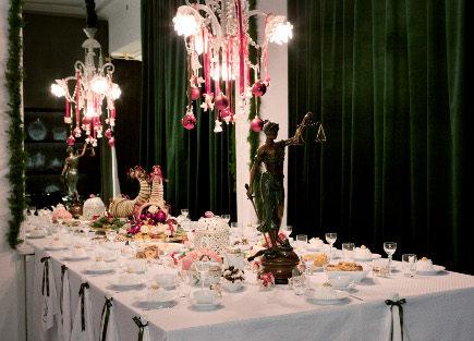 Royal Copenhagen 2011 mesa de Natal