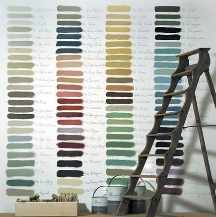 paint palette wall